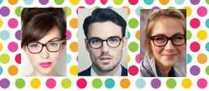 Část 2. Jak si vybrat ten správný tvar a barvu brýlí na míru vašemu obličeji
