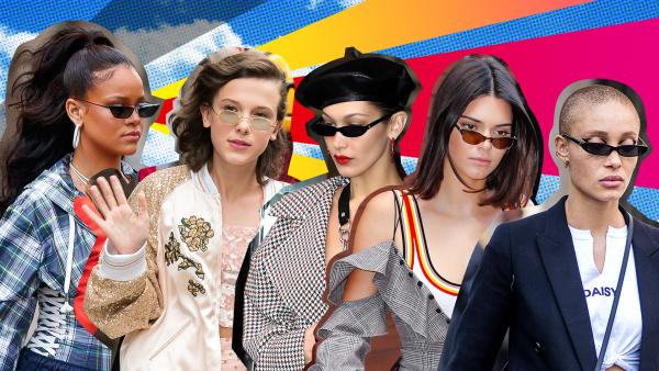 Jak celebrity ladí sluneční brýle s jarními outfity?